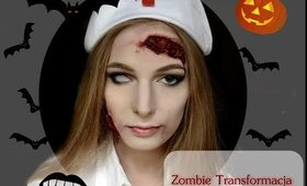 Halloween Zombie-Nurse Transformation