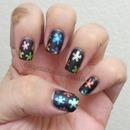 Matte Gel Ink Flowers