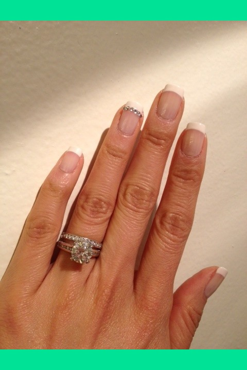Classic French Manicure Romee H S Chorom Photo
