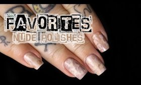 My Favorites: Nude Polishes