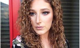 Feline Eyes + Stone Lips Makeup Tutorial