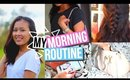 My Fall Morning Routine 2015 ♥︎ Get Ready With Me: School