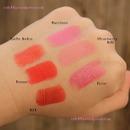 NYX Lipstick Swatches 2
