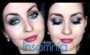 Deep Insomnia: Blue Brown Makeup