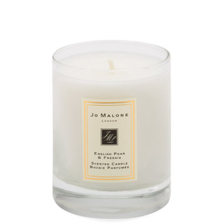 English Pear & Freesia Scented Candle 60g Travel