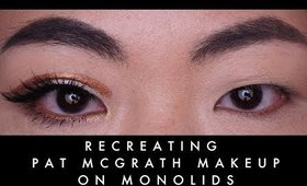 RECREATING PAT MCGRATH MAKEUP ON ASIAN MONOLID EYES I Futilities And More