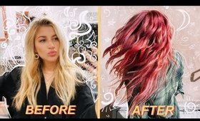 MY BRAVE TRANSFORMATION FROM BLONDE TO….Was it a mistake?