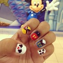 Nails for my Disney World vacation
