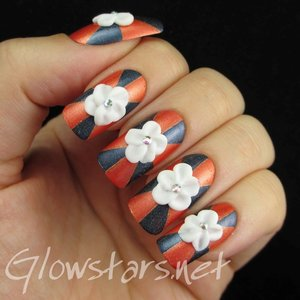 Read the blog post at http://glowstars.net/lacquer-obsession/2014/10/3d-flowers-on-pinwheels/