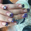 gunmetal purple silver