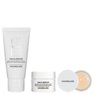 Hourglass Equilibrium The Intensely Hydrating Set