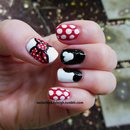 Disneyland Minnie Nails