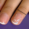Bridal Simple and Elegant Nails