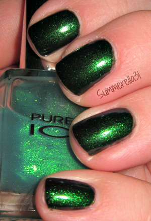 Wet N Wild Poison Ivy and Pure Ice Heart Breaker