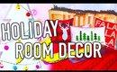 DIY Holiday Room Decorations! Easy DIY Christmas ideas!