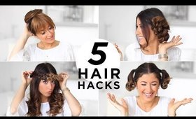 5 EASY HAIR HACKS YOU SHOULD KNOW | Luxy Hair