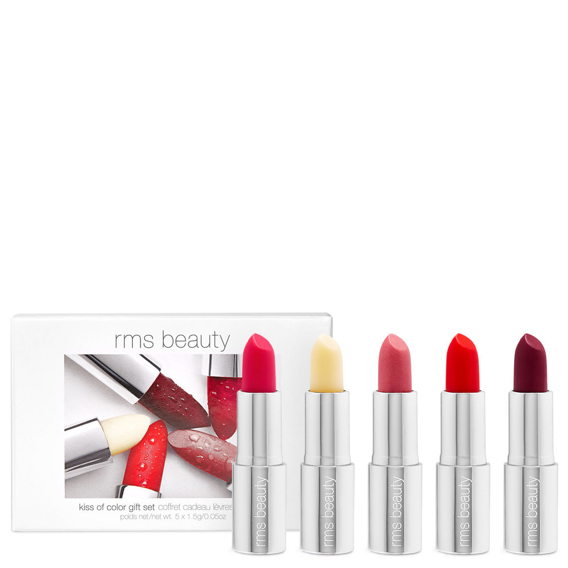 rms beauty Kiss of Color Gift Set alternative view 1 - product swatch.