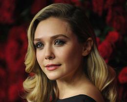 Elizabeth Olsen Makeup, MOMA Film Benefit
