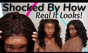 6 Viral Instagram Hairstyles on The Most Realistic Glueless Natural Hair WIG   Invisible Lace Melt