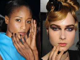 New York Fashion Week, Fall 2011: CND at Carolina Herrera
