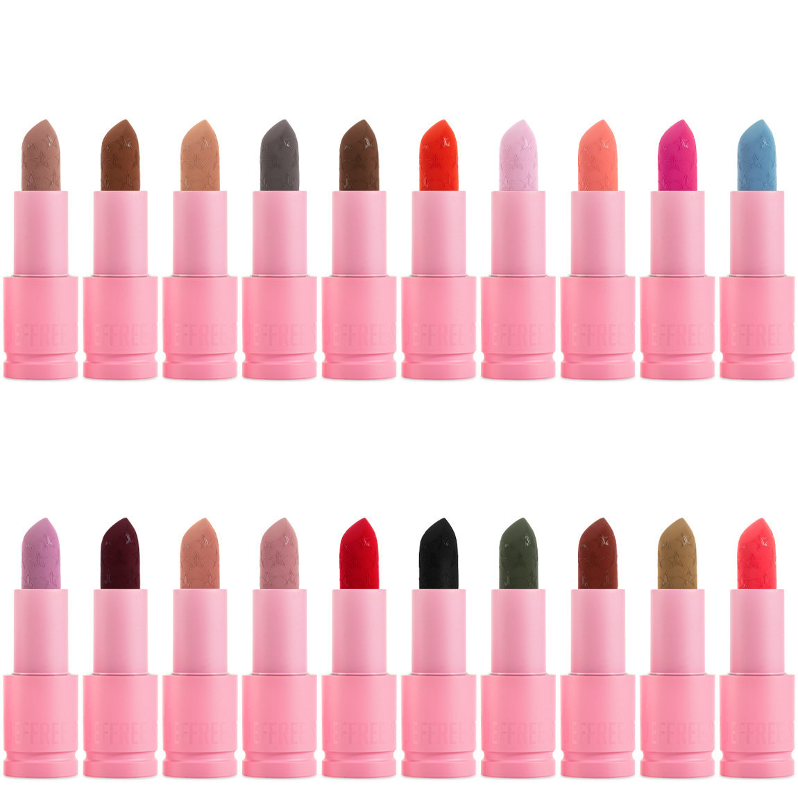 Jeffree Star Cosmetics Velvet Trap Lipstick Collection alternative view 1 - product swatch.