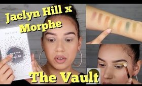 In Depth First Impressions of The Vault by Morphe x Jaclyn Hill | ChristineMUA