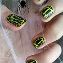 Ghoulish Halloween Nails