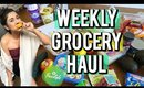 Weekly Grocery Haul - Weight Watchers