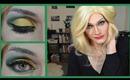 Gold & Green Cut Crease ☆ Dramatic/ Drag Queen ☆ Holiday Eyeshadow Tutorial
