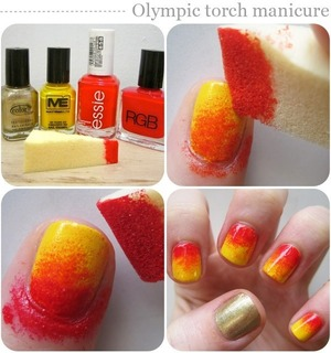 Sunset orange and yellow step by step guide xx