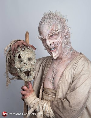 Original crystal creature design applied live at Son of Monsterpalooza on the PPI Premiere Products Stage.