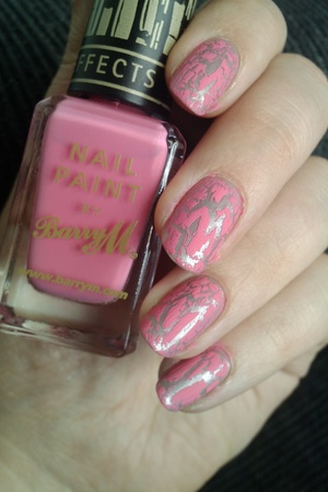 Pink Barry M nail effects - plain