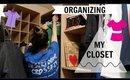 CLOSET DECLUTTER & ORGANIZATION