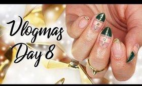 Valentino Rockstud Inspired Christmas Nail Art   Vlogmas KKN Style Day 8 ♡