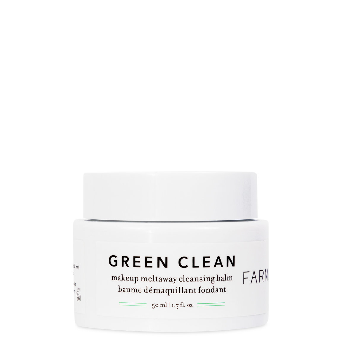 Farmacy Green Clean Makeup Meltaway Cleansing Balm 1.7 oz alternative view 1 - product swatch.