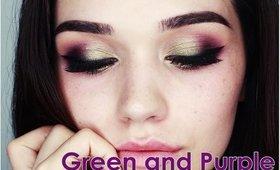 Green and purple | talk thru tutorial
