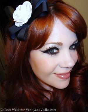 Gothic Glam look using Nyx Cosmetics Crimson Amulet Collection.