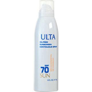 ULTA Sun Oil-Free Sunscreen Continuous Spray SPF 70
