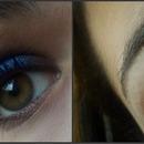 Make up 'Vibrant Blue'