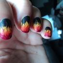 Matte Flames