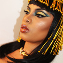 Cleopatra Makeup Inspired...Youtube.com/msroshposh