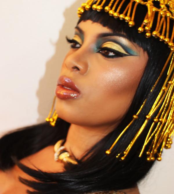 Cleopatra Makeup Inspired...Youtube.com/msroshposh