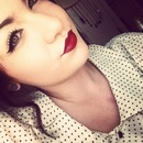 Vintage Pin Up Inspired Makeup
