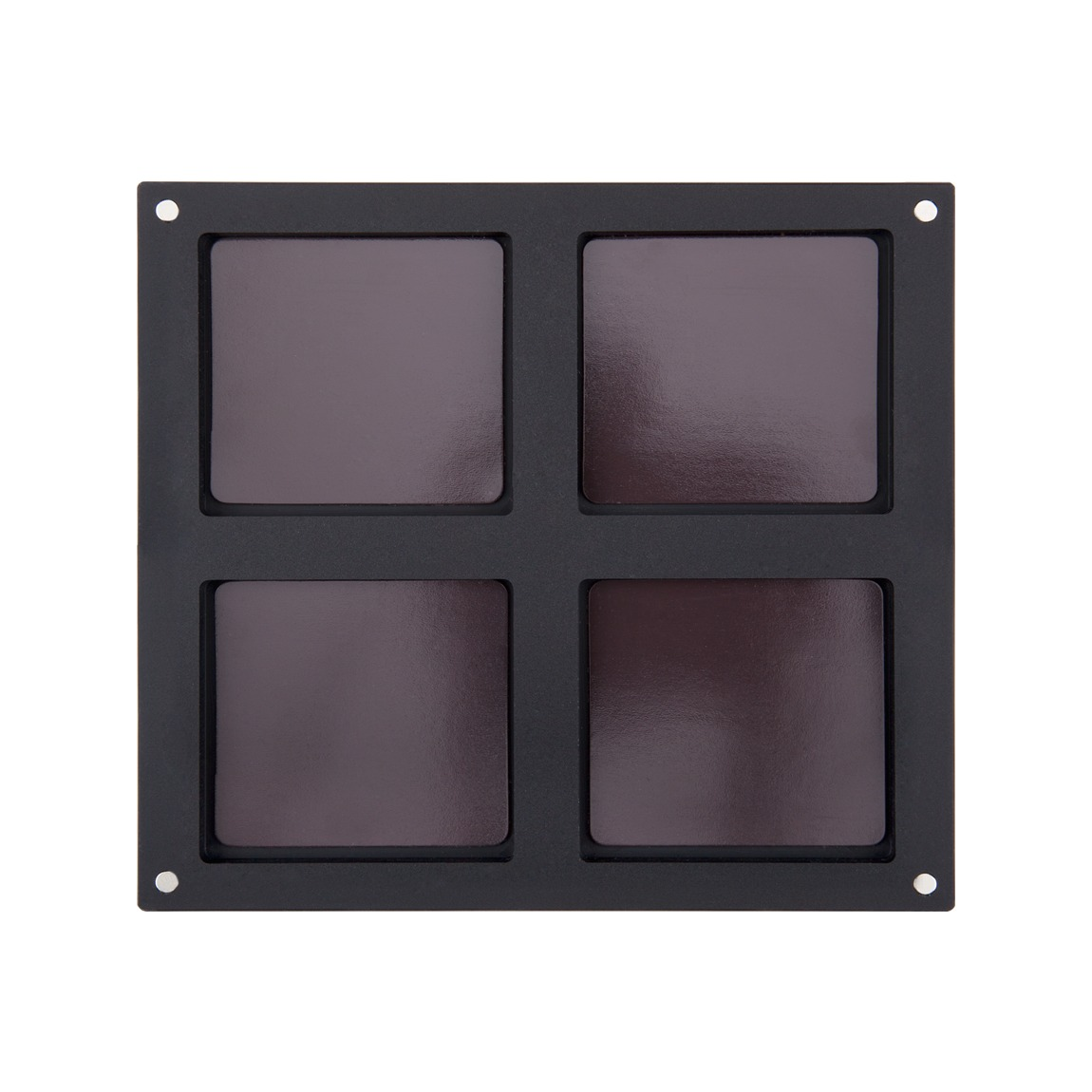 Inglot Cosmetics Freedom System Palette 4 Face Powder product swatch.