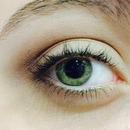 Simple eyeshadow