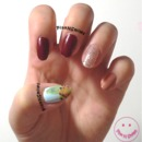 Dorothy Nail Art | Wizard of Oz