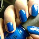 China Glaze: Blue Sparrow (Neon)