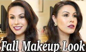 Classic Fall Makeup Tutorial | Smokey Eye & Berry Lips