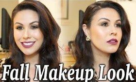 Classic Fall Makeup Tutorial | Smokey Eye & Berry Lips