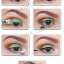 How to COLORFUL EYE